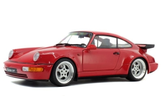 Porsche 911 (964) 3.6 Turbo 1990 rouge indien 1:18 Solido