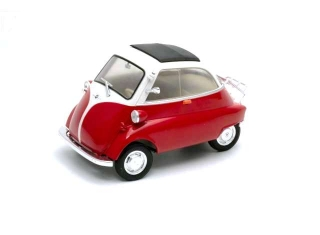 BMW Isetta red/white 1:18 Welly