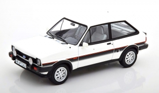 Ford England Fiesta XR2 1981 white 1:18 Norev