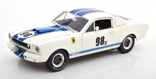 Ford Mustang Shelby GT 350R #98B Ken Miles 1965 Terlingua Racing 1:18 Shelby Collectibles