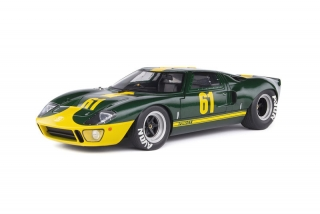Ford GT40 MK1 Racing Custom 1968 green 1:18 Solido