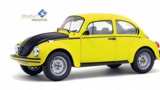 VW Beetle 1303 GSR 1973 yellow 1:18 Solido