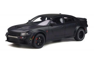 Dodge Charger SRT Hellcat Widebody Tunde by Speedkore 2020 black matte 1:18 GT Spirit