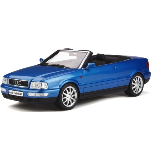 Audi 80 Cabriolet King Fisher blue 1:18 OttOmobile