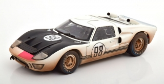 Ford GT40 MK II #98 Miles/Ruby Winner 24h Daytona 1966 Dirty Version 1:18 Shelby Collectibles