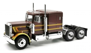 Peterbilt 359 1967 brown metallic 1:18 Road Kings
