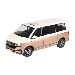 Volkswagen Multivan T6.1 *Generation Six* white/bronze 1:18 NZG