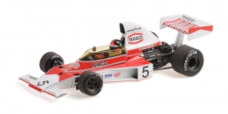 McLaren Ford M23 Emerson Fittipaldi World Champion 1974 1:18 Minichamps