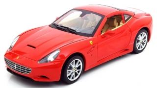 Ferrari California V8 2008 red 1:18 HotWheels