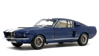 Shelby GT500 nightmist blue 1:18 Solido