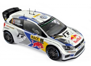 Volkswagen Polo R WRC 2015 World Champion Spain 2014  N°1 Ogier 1:18 Norev