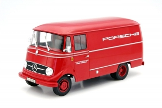 Mercedes Benz L319 Porsche racing service 1955 red 1:18 Norev