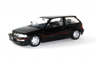 Honda Civic EF-9 SiR 1990 black 1:18 Triple9 Collection