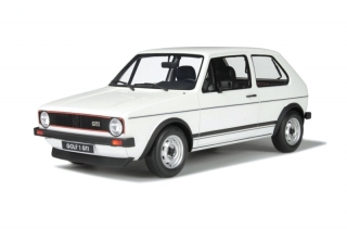 Volkswagen Golf GTI 1600 1975 Polar White 1:12 OttOmobile