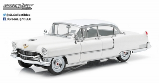 Cadillac Fleetwood Series 60 1955 white 1:18 Greenlight