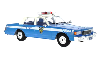 Chevrolet Caprice NYPD New York Police 1985 blue 1:18 MCG Modelcar Group