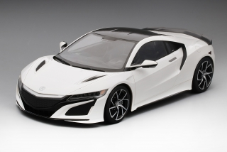 Acura NSX 2017 130R white (LHD) 1:12 TSM model