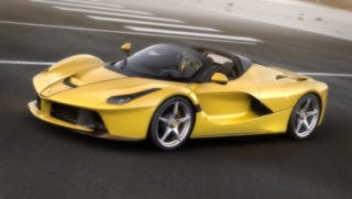 Ferrari LaFerrari Aperta yellow 1:12 Looksmart
