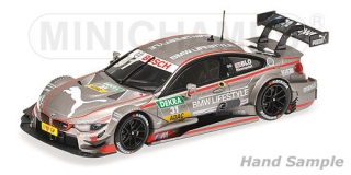 BMW M4 (F82) BMW Team RBM Tom Blomquist  DTM 2015 1:43 Minichamps