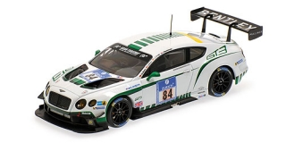 Bentley GT3 ADAC 24h Nűrburgring # 84 1:43 Almost Real
