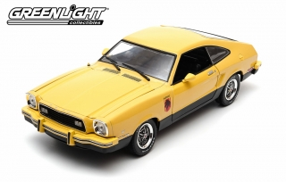 Ford Mustang II Stallion 1976 yellow 1:18 Greenlight