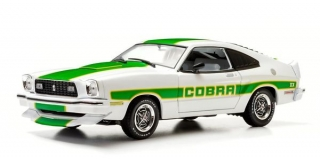 Ford Mustang Cobra II 1978 white 1:18 Greenlight