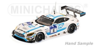Mercedes Benz AMG GT3 Winner 24h Nurburgring 2016 1:43 Minichamps