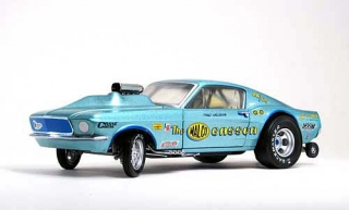 Ford Malco Gasser Mustang Dragster *Ohio George* 1967 1:18 G.M.P.