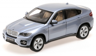 BMW X6 Active Hybrid 2009 blue 1:18 Kyosho