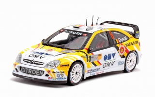 Citroen Xsara WRC #6 2nd Rally Germany 2007 1:18 Sun Star