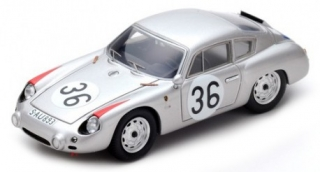 Porsche 356 B Carrera GTL Abarth #36 10th Le Mans 1961 1:43 Spark