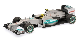 Mercedes AMG Petronas W03 #8 Rosberg First Winner Mercedes 2012 1:18 Minichamps