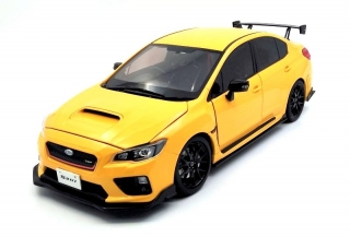 Subaru WRX Sti S207 NBR Challenge Package 2015 yellow 1:18 SunStar