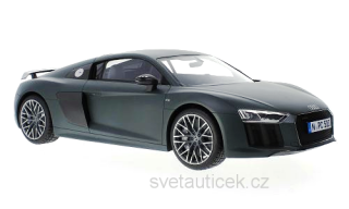 Audi R8 V10 Plus Coupe matt-dark green, 2015 1:12 Premium ClassiXXs