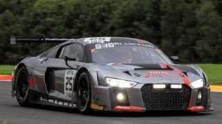 Audi R8 LMS #25 Winner 24H SPA 2017 Audi Sport Team 1:12 Spark