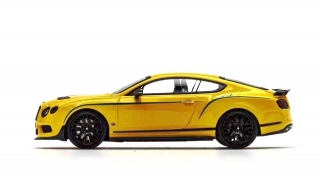 Bentley GT3-R 2015 yellow 1:43 Almost Real