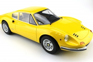 Ferrari Dino 246 GT yellow 1:12 Top Marques