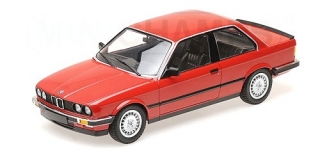 BMW 323I (E30) 1982 red 1:18 Minichamps