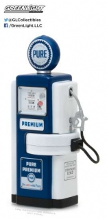 Wayne 100-A Pure Oil Gas Pump *Vintage Gas Pumps Series 3* 1948 1:18 GreenLight