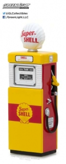 Wayne 505 Shel Oil Gas Pump *Vintage Gas Pumps Series 3* 1951 1:18 GreenLight