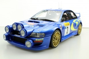 Subaru S4 #3 Colin McRae/Nicky Grist WRC MC Rally 1998 1:12 Top Marques