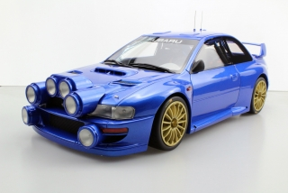 "Subaru S4 WRC MC Rally 1998 ""Ready to race"" 1:12 Top Marques"
