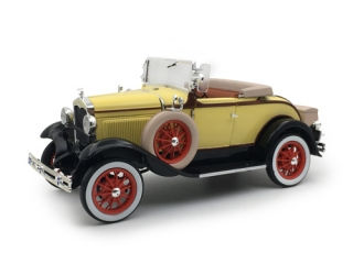 Ford Model A Roadster 1931 yellow/black 1:18 Sunstar