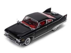 Plymouth Fury Hard Top 1960 black/red 1:18 Sunstar