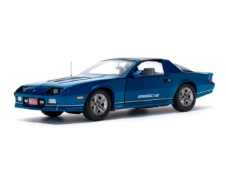 Chevrolet Camaro IROC-Z 1985 bright blue 1:18 Sunstar