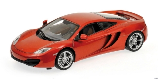 McLaren MP4-12C 2011 red 1:18 Minichamps