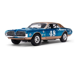 Mercury Cougar Racing #48 Scott Hackenson 1967 1:18 Sunstar