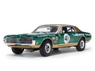 Mercury Cougar Racing -#41 Allant Moffat 1967 1:18 Sunstar