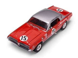 Mercury Cougar Racing #15 Parnelli Jones 1967 1:18 Sunstar