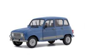 Renault 4 GTL CLAN 1986 blue 1:18 Solido